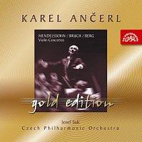 Česká filharmonie, Karel Ančerl – Ančerl Gold Edition 3. Mendelssohn-Bartholdy, Bruch & Berg: Koncerty pro housle a orchestr – CD