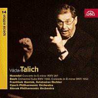Česká filharmonie, Václav Talich – Talich Special Edition 14. Händel: Koncert pro hoboj a smyčc.orch. - Bach: Orchestrální suita, Koncert pro cembalo a orch. – CD