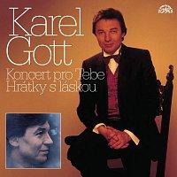 Karel Gott – Komplet 27 / 28 Koncert pro tebe / Hrátky s láskou 2CD – CD